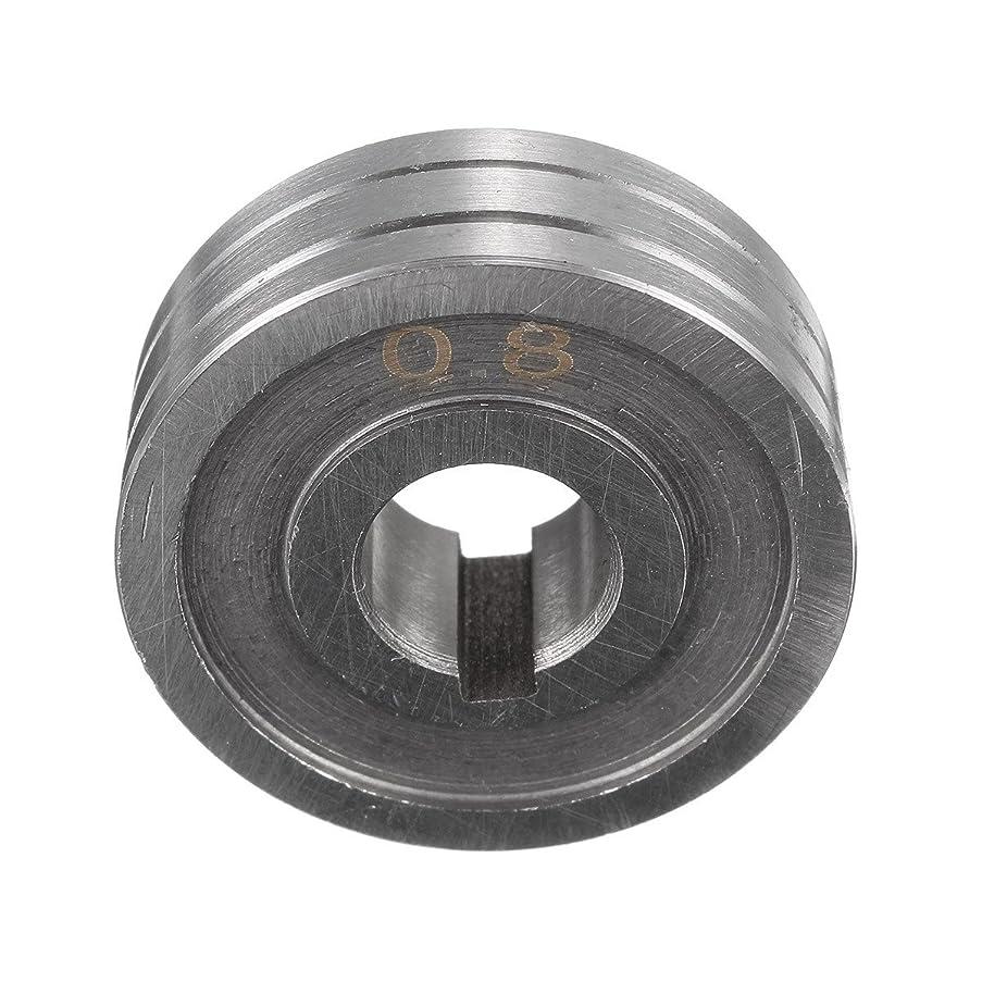 胃生まれコンテンポラリーQueenwind 溶接機ワイヤフィード駆動ローラーロール部品 0.8 0.6 Kunrled-グルーブ