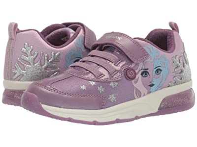 Geox Kids Frozen Spaceclub 7 (Little Kid/Big Kid) (Pink/Mauve) Girl
