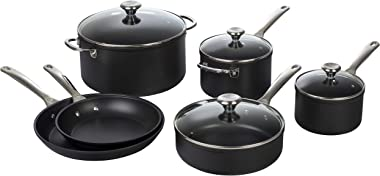 Le Creuset Toughened PRO 10 Piece Set Nonstick Cookware, pc, Grey
