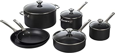 Le Creuset Toughened Nonstick PRO Cookware Set, 10 pc.