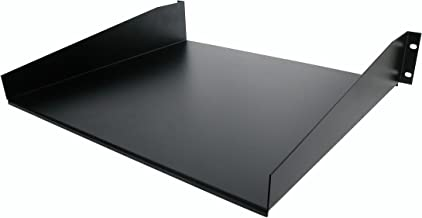 StarTech.com 2U Server Rack Mount Shelf - 15.7in Deep Steel Universal Cantilever Tray for 19