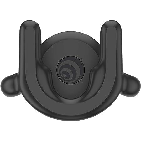 PopSockets: PopMount 2 - Support de Ventilation de Voiture Mains Libres Non Adhésif pour Smartphones et Tablettes - Black
