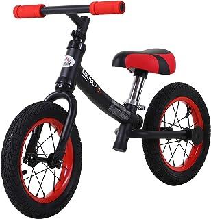 HOMCOM Bicicleta sin Pedales Sillín Regulable 31-45cm