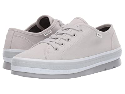Wolky Linda (Light Gray Canvas) Women