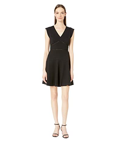 Rebecca Taylor Taylor Dress (Black) Women