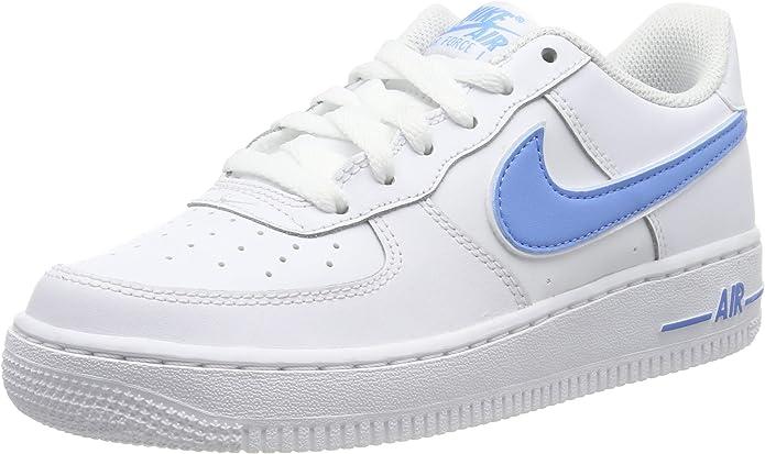 air force 1 azzurre e nere