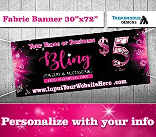 Jewelry and Accessories Bling Banner -30