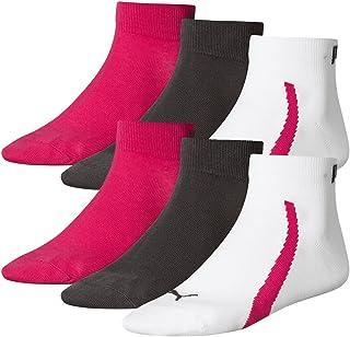 low priced 977ee 7f5bd Puma Lifestyle - Chaussettes de Sport - Lot de 3 - Graphique - Mixte Adulte  -