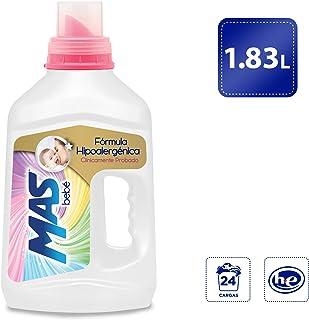 MAS Mas Bebé Detergente Líquido (1.83l), Pack of 1