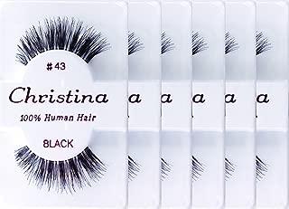 Christina 6packs Eyelashes - #43