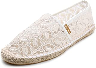 Alexis Leroy Women's Closed Toe Breathable Flat Espadrilles