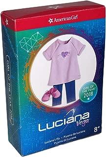 American Girl Luciana Vega's PJ's for 18