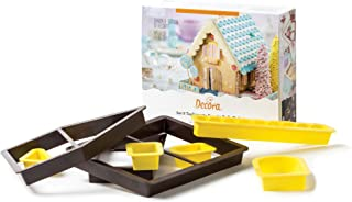 DECORA Cutters Fairy Tales House, Yellow, 17 x 20 x 5 cm