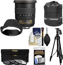 Nikon 12-24mm f/4 G DX AF-S ED-IF Zoom-Nikkor Lens + Pistol Grip Tripod + 3 UV/CPL/ND8 Filters Kit for D3200, D3300, D5300, D5500, D7100, D7200 Camera