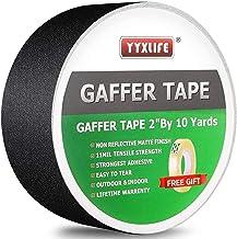 Premium Grade Gaffers Tape, Heavy Duty Non-Reflective Matte No Residue Gaff Main Stage..
