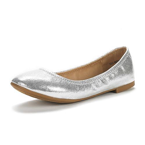 0d4923e6f41a94 DREAM PAIRS Women's Sole Happy Ballerina Walking Flats Shoes