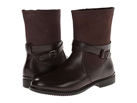 Womens Boots ECCO Touch 15 Buckle Boot Coffee/Mocha