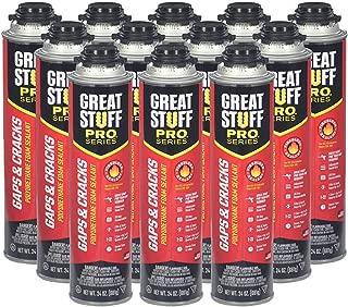 Dow Great Stuff Pro Gaps and Cracks 24 oz Gun Foam (Case of 12) - 341557