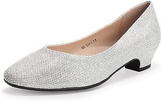 IDIFU Women's Heels Wedge Flip Flops Sandy Sandals