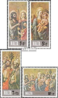 Malta 538-541 (Complete.Issue.) 1976 Christmas (Stamps for Collectors) Christmas