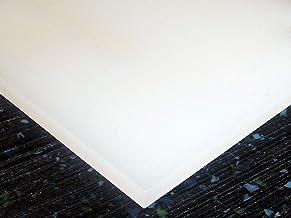 "1/4"" White Acrylic 24""x12"" Sheet Translucent Plexiglass Cast #2447 AZM"
