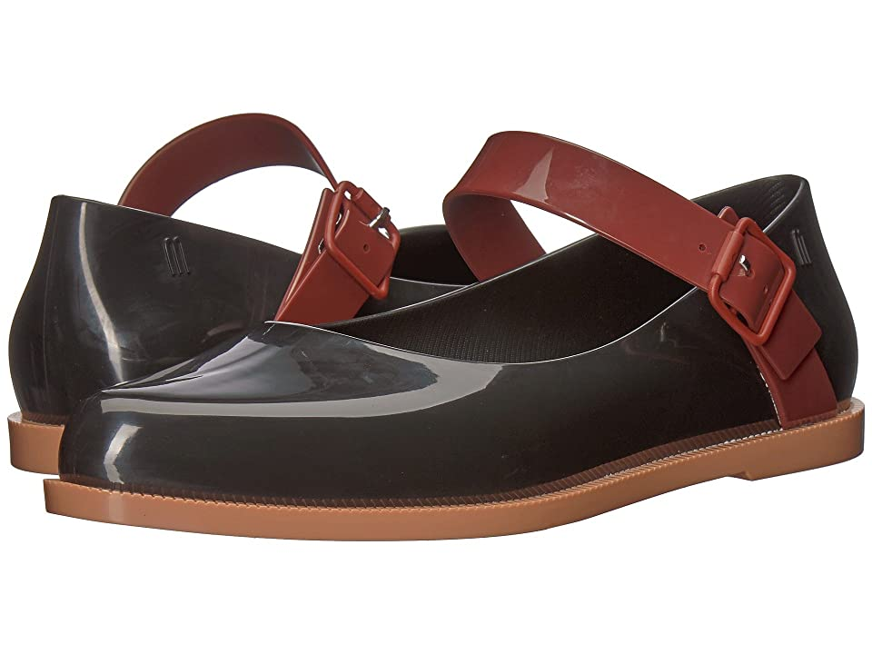 Melissa Shoes Mary Jane (Black/Bordeaux/Brown) Women