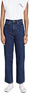 Women's High Rise Relaxed Stovepipe Jeans
