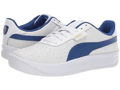 PUMA California (Puma White/Surf the Web/Puma White) Classic Shoes