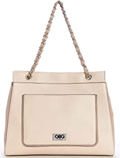 G by Guess Tote Bags for Women , Beige - AA145507 BSM