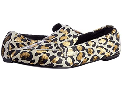 AGL Moccasin Serval (Off-White) Women