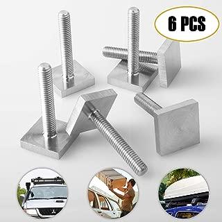 BB-EP-Menabo Einfacher Aluminium Dachtr/äger 90301315 f/ür Subaru Forester mit normaler Dachreling f/ür U-B/ügel Montage oder T-Nut Montage mit 20 mm Breite hochstehender