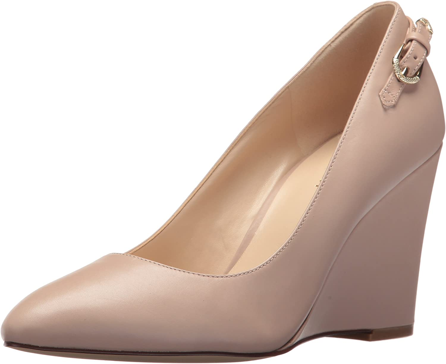 Nine West Womens Dulceleche Leather Pump