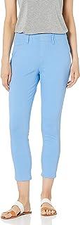 Amazon Essentials Pull-on Knit Capri Jegging Pants, Bleu français, 42-44 Taille Courte