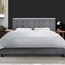 Artiss King Bed Frame Fabric, Grey