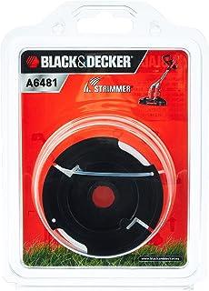 Black & Decker A6481 Volautomatische spoel voor grastrimmer van 10 m lengte, 1,5 mm draaddiameter