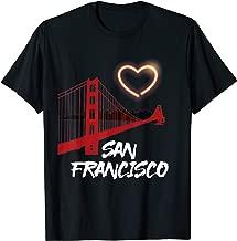 San Francisco Love Souvenir T Shirt T-Shirt