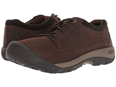 Keen Austin Casual WP (Chocolate Brown/Black Olive) Men