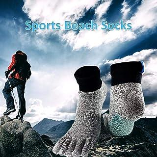Chuanfeng Calcetines De Playa Calcetines De Buceo para Hombres Y Mujeres Calcetines De Voleibol De Playa Fútbol Anticorte Deportes workable