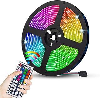 JMEXSUSS 16.4ft 300 LED Strip Lights Flexible,5050 SMD RGB Led Strip Light, Tape Strip Light Color Changing
