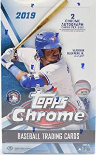 topps chrome hobby box
