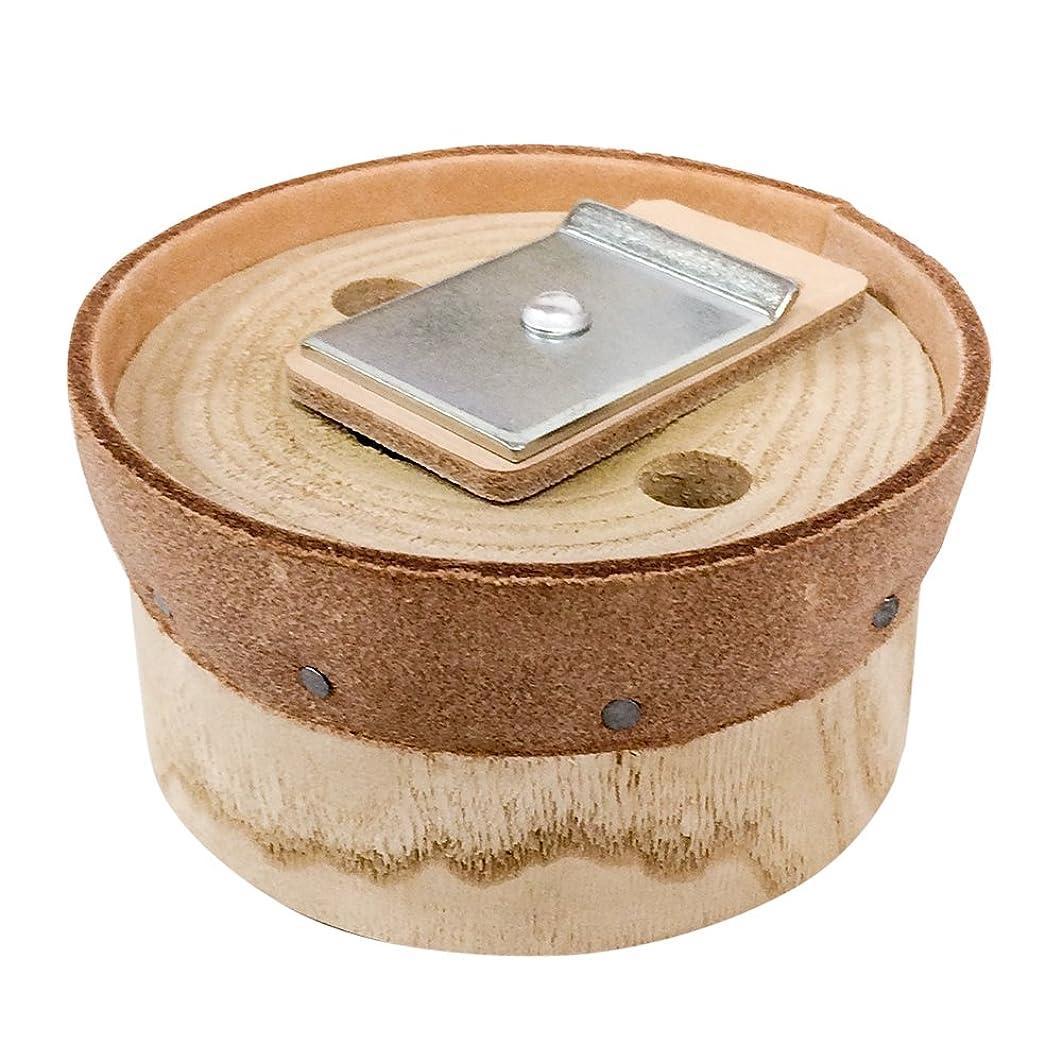 プログラムギャザーポジティブ手押し井戸ポンプ用 部品 皮付木玉 32