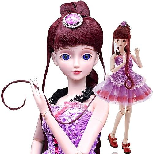 n ° 1 en línea Jasmine Fairy Fairy Fairy 1 3 BJD Doll FULL SET 24inch Girl ball jointed dolls BJD Reborn Fig  nueva gama alta exclusiva