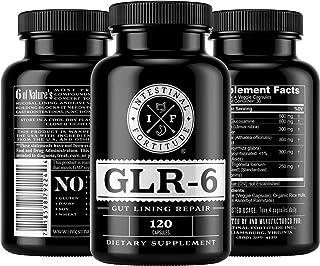 Intestinal Fortitude GLR-6 - Gut Lining Repair Supplement - L Glutamine - Marshmallow Root - Slippery Elm - DGL Licorice Root - Fenugreek - N Acetyl D Glucosamine - Gut Health - Leaky Gut - IBD - IBS