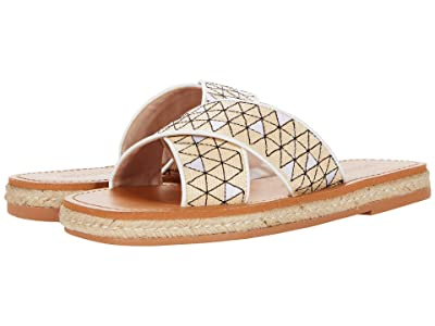 Schutz Suzita (Natural/White) Women