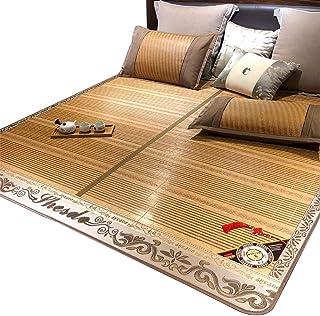 Colchones Enfriamiento Estera de Bambú Ropa de Cama de Verano Estera Lisa con Aire Acondicionado Sin Hielo para El Dormitorio (Size : W1.5mx1.95m)