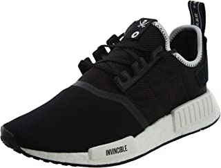 cc50dc743f944 adidas Mens NMD R1 Invincible X Neighborhood Black White Mesh