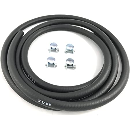 6,98 EUR per 1m 50cm Clear Fuel hose Extra Thick Zenoah//CY White