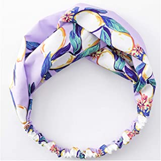 Summer Bohemian Style Hairbands Print Headbands for Women Retro Cross Knot Turban Bandage 11