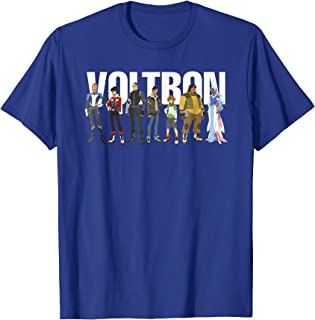 Voltron Legendary Defender Lance Blue Lion Action T-Shirt