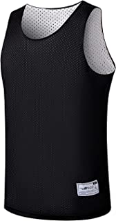 ALFGO Mesh Tank Top Durable & Breathable Reversible Jersey Sports Gift Included